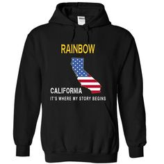 RAINBOW - Its Where My Story Begins - #gift ideas #unique gift. TAKE IT => https://www.sunfrog.com/States/RAINBOW--Its-Where-My-Story-Begins-vzxtp-Black-14852231-Hoodie.html?68278