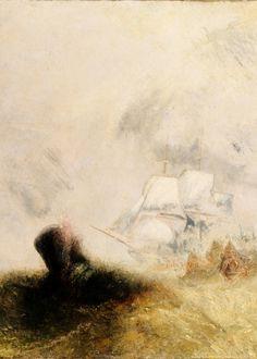 The Whale Ship , (1845) JMW Turner