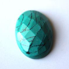 Turquoise Cut Green Gemstone, Oval Loose Gemstone 20 ct 00TC#e Green Gemstones, Loose Gemstones, Turquoise Gemstone