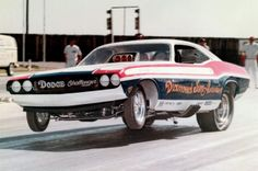 DIAMOND JIM ANNIN Funny Car at OCIR