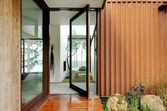 Eagle Ridge - contemporary - Entry - Seattle - Gary Gladwish Architecture