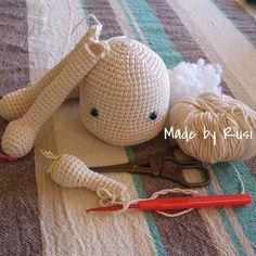 Work in progress #crochet #amigurumi #crochetdoll #madebyrusi #rusidolls
