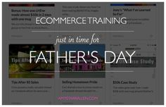 ecommerce trainng for father's day