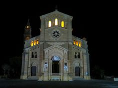 This is #Malta through the eyes of a Magician. Stunning shots by Brian Role'. Ta' Pinu #church #gozo #travel © Brian Role'