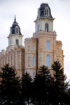 Manti Utah Temple of The Church of Jesus Christ of Latter-day Saints. #LDS #Mormon