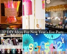 Top 32 Sparkling DIY Decoration Ideas For New Years Eve Party