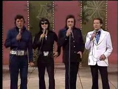 Johnny Cash, Jerry Lee Lewis, Roy Orbison And Carl Perkins - This Train Is Bound For Glory - YouTube