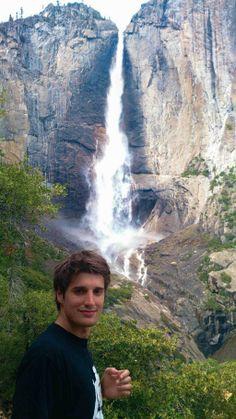 Luka at Yosemite - he calls it a magical place