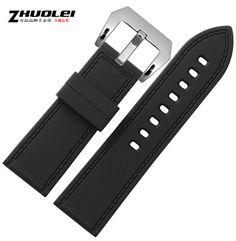$15.00 (Buy here: https://alitems.com/g/1e8d114494ebda23ff8b16525dc3e8/?i=5&ulp=https%3A%2F%2Fwww.aliexpress.com%2Fitem%2F26-mm-preto-esporte-borracha-Diver-Watch-Band-Strap%2F32600658196.html ) Fashion 26mm Watch Band Black Silicone Rubber Watch Strap Waterproof Sport Watch Band for just $15.00