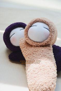 Grace--#285+#286 sock dolls