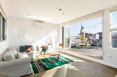 $2.25M Park Slope penthouse comes with three outdoor spaces and an indoor jungle gym | 6sqft