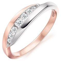 Ring Set, Ring Verlobung, Gold Plated Rings, White Gold Rings, Jewelry Rings, Jewelery, Gold Jewelry, Bijoux Or Rose, Rose Gold Diamond Ring