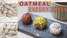Oatmeal Energy Protein Balls / Vegan Cookie Recipe / Spoil Your Kids With Healthier Bites - YouTube Protein Energy, Protein Ball, Spoil Yourself, Energy Balls, Cookie Recipes, Oatmeal, Channel, Snacks, Vegan