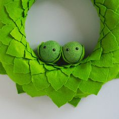 Small Christmas Sprout Wreath