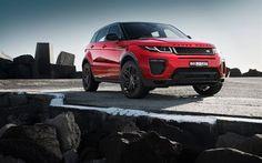 Indir duvar kağıdı Land Rover, Range Rover Evoque, 2017, Çapraz, kırmızı yapmış oluyorsunuz