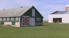 Jim and Irene Leuenberger have painted and put up over 200 barn quilts in Shawano County. Video