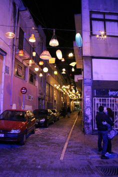 Pittaki Street of random lights in Athens, Greece Time Travel, Places To Travel, Cypress Grove, Mount Olympus, Clear Blue Sky, Cultural Diversity, Athens Greece, City Streets, The Good Place