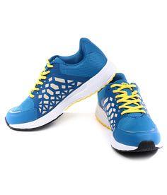 Spunk Lt Blue/Yellow Running Shoes
