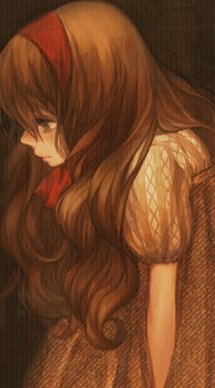 """By よつば (Yotsuba) aka Misoni Comi.  This is very pretty.  I like the warm, rather """"old-fashioned"""" looking tones.vailable"""