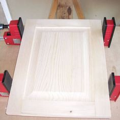 Frame and Panel on Table Saw - Cabinet Door Construction ...