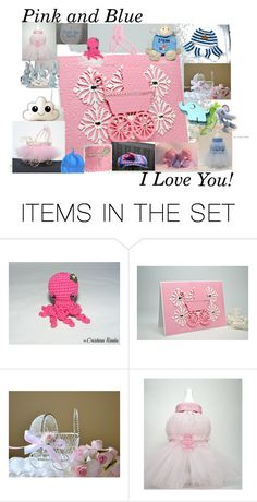 """""""FRU Pink and Blue"""" by stacey-nap ❤ liked on Polyvore featuring art"""