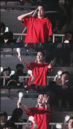 Xiumin - 190728 Attending Exoplanet - The EXpℓOration in Seoul Credit: NatNat. Kaisoo, Kim Minseok Exo, Chanyeol, Kyungsoo, Exo Dear Happiness, Exo Korea, Exo Album, Exo Lockscreen, Xiuchen
