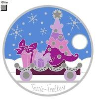 2013 - 28989 - Christmas Tree PTE Express Train pathtag (Geocoin alt)