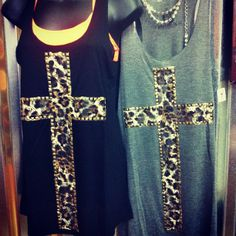 Leopard and crosses. Could this get any better?