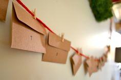 Christmas Advent Calendar by Rachel Schultz