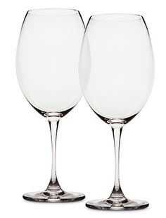 $47.95-$50.00 The Mondavi Collection is the next step in wine appreciation.  These glasses were designed with the assistance of Carlo Mondavi and showcases each varietal of wine by the shape each glass has.  This is a way to fully enjoy each type of wine and will enhance the wine drinking experience.