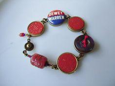 dewey warren bracelet by ljctree on Etsy, $25.00