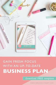 The mini business plan blogging tips and tricks tutorials gain fresh focus with an up to date business plan free template accmission Image collections