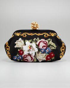 Miss Dea Needlework Clutch Bag by Dolce & Gabbana at Neiman Marcus.