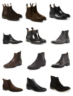 See some of the men celebrities wearing the chelsea boot including Balmain Designer Olivier Rousteing, Kanye West, Beatles and Tom Ford.
