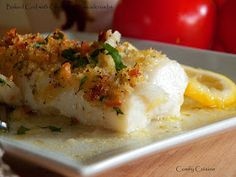 Comfy Cuisine: Baked Fresh Cod with Gremolata Breadcrumbs