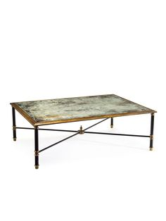 Neoclassical Cocktail Table - Gilt Home