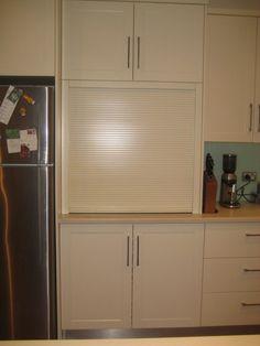 Roller Appliance Door   Designing Women - interior design,kitchen design,bathroom design - Kitchens