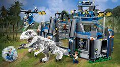75919 Indominus rex™ Breakout - Products - Jurassic World LEGO.com