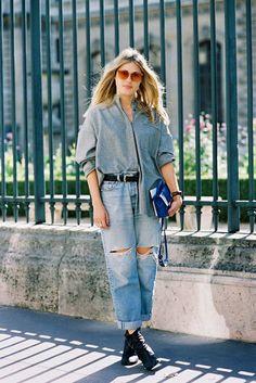 Paris Fashion Week SS 2015....Natalie