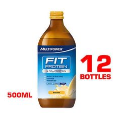 #Multipower fit #protein 12 x 500ml high #protein #drink redy to #drink rtd,  View more on the LINK: http://www.zeppy.io/product/gb/2/251057545265/
