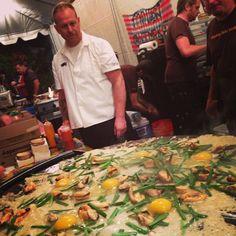 Andy Ricker at Night Market. Feast Portland.