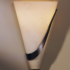 Half Cone with Sweep Wall Sconce by Hubbardton Forge at Lumens.com