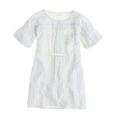 Dock-stripe shirtdress so cute. I have this and wear with leggings, scarf, and riding boots basically every day :)