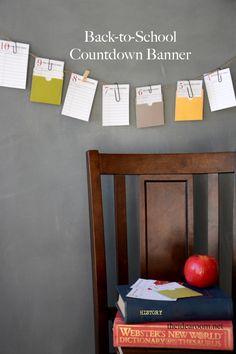 back-to-school-printables | theidearoom.net