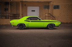 Daniel's '71 Challenger by Fast Freddies Rod Shop on Forgeline ZX3R wheels…