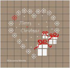 puntocroce e fantasia: joyeux noel e merry christmas!!!