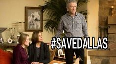 Please save Dallas. We are the people who still love this complicated family.