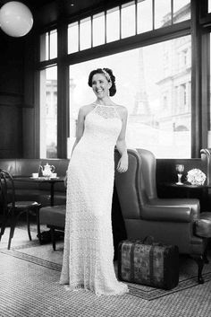 This amazing photo was taken by James Goss from Bon Bon Photography. True modern vintage at it's best from Bertossi Brides at Paddington Weddings with the Lara gown.