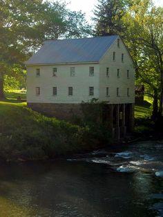 Mill at Jackson's Mill near Weston, WV, Lewis County, Monongahela Valley Region