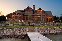 This house on the 6M cove Lake of the Ozarks, perfect. Now I just have to find a lot, builder and oh yes....money.
